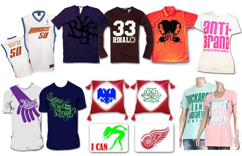 T shirt transfer start up kit for Heat pressed t shirts